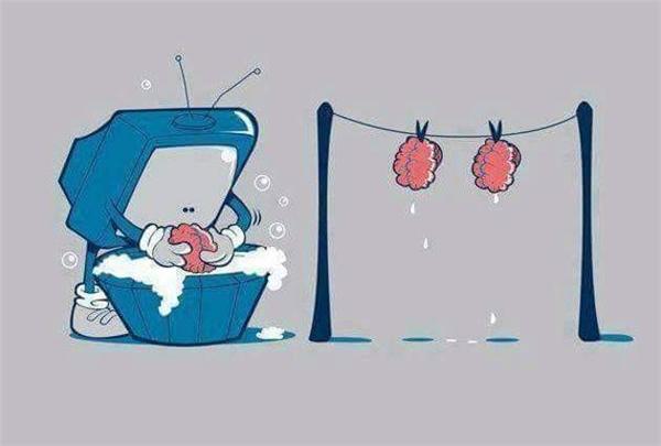 Chúng ta đang bị truyền hình tẩy não hàng ngày mà không biết.