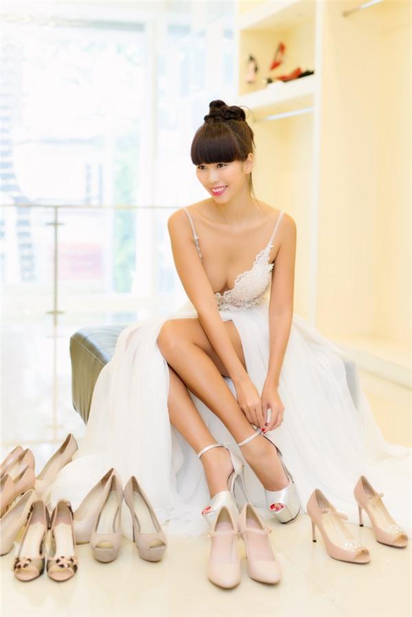 Chiêm ngưỡng váy cưới lộng lẫy của Hà Anh trước thềm đám cưới - Tin sao Viet - Tin tuc sao Viet - Scandal sao Viet - Tin tuc cua Sao - Tin cua Sao