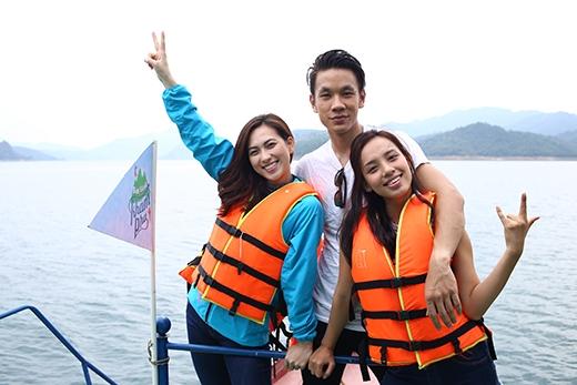 Sông Đà là điểm đến tiếp theo của cuộc hành trìnhSẵn sàng khám phá.