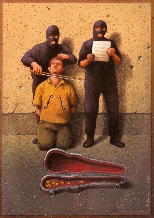 Ở một thế giới khác, âm nhạc đại diện cho tội ác, những ai không chơi nhạc sẽ được xem là kẻ thù của nhân loại.