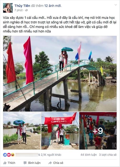 Đại Nghĩa, Tuấn Hưng lên tiếng bảo vệ hành động xây cầu của Thuỷ Tiên - Tin sao Viet - Tin tuc sao Viet - Scandal sao Viet - Tin tuc cua Sao - Tin cua Sao