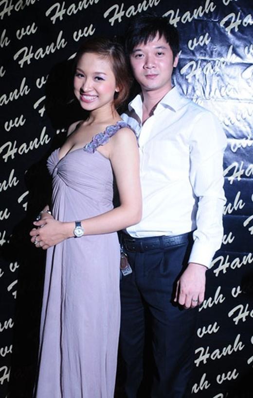 Thanh Vân ngày còn hạnh phúc bên chồng cũ. (Ảnh: Internet)