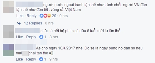 Một phong cách đón tận thế rất Việt Nam.