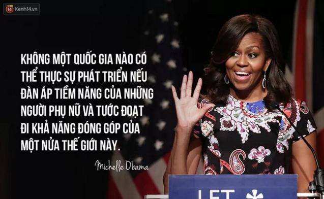 10 câu nói nổi tiếng của bà Michelle Obama truyền cảm hứng cho phụ nữ trên toàn thế giới