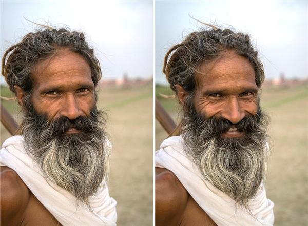 Tuổi già không bao giờ héo úa nếu chúng ta có nụ cười.