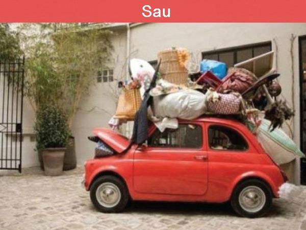 Sự khác biệt giữa hai người và cả gia đình đi du lịch.