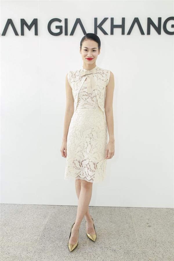 Cựu người mẫu Trương Thanh Trúc