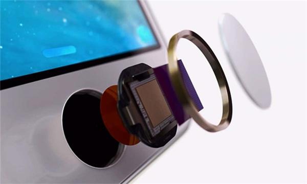 Nút Home cảm ứng điện dung. (Ảnh: internet)