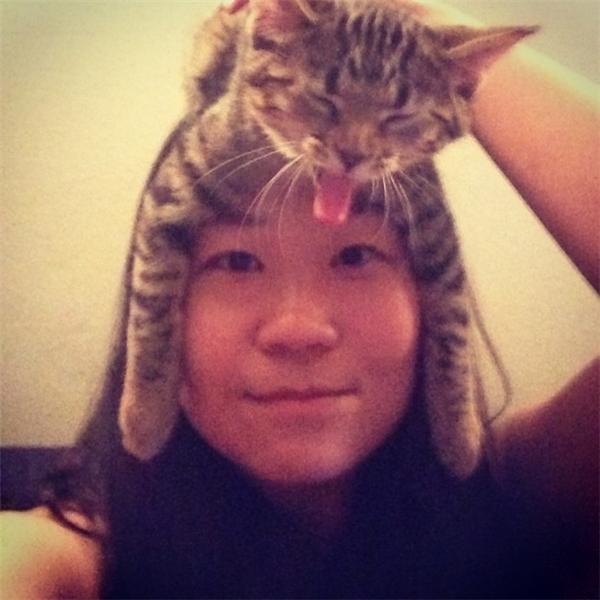 6. Chiếc mũ thần thánh phù hợp với mọi khuôn mặt.