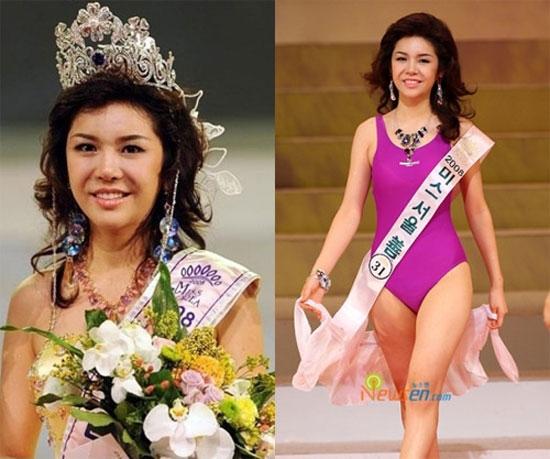 Hoa hậu Hàn Quốc 2008 Seon Nari đã khiến công chúng được một phen bất ngờ khi đăng quang.
