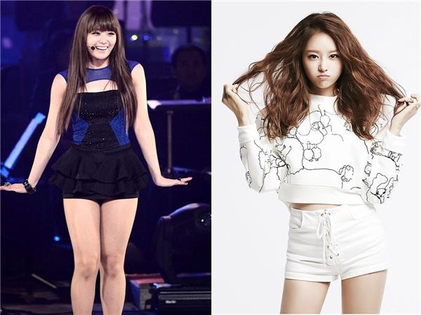 Song Ji Eun cũng là một trường hợp nỗ lực giảm cân và đã thành công của Kpop.(Ảnh: Internet)