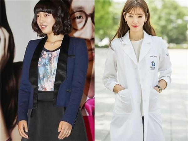 Park Shin Hye vốn dĩ có thân hình đầy đặn. Cô thường xuyên phải theo dõi cân nặng và dĩ nhiên Park Shin Hye chưa bao giờ quá ốm. Ấy vậy mà trong bộ phim Doctors gần đây, Park Shin Hye đã xuất hiện với diện mạo vô cùng thon thả. Nhiều người cho rằng cô nàng trông đẹp và chững chạc hơn so với lúc trước.(Ảnh: Internet)