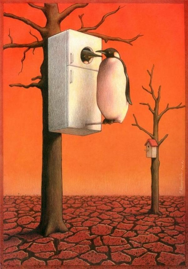 Biến đổi khí hậu khiến môi trường sinh sống của muôn loài bị hủy hoại. Còn con người sẽ sống ở đâu?