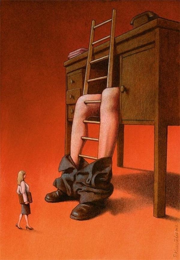 Có nấc thang danh vọng nào mà bằng phẳng và sạch sẽ?