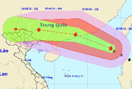 Tin mới nhất: Bão số 2 có khả năng dịch chuyển vào Việt Nam