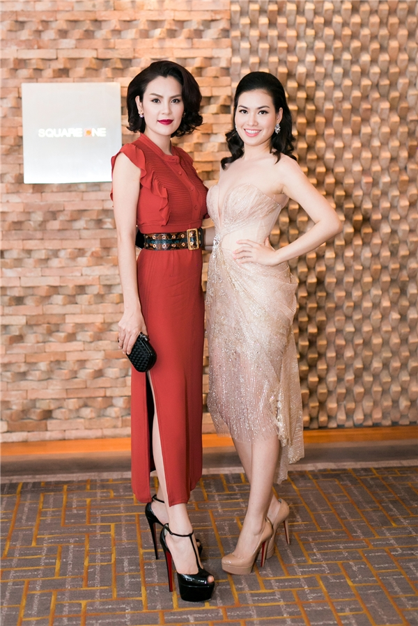 Phương Lê và Hoa hậu Diễm Trần