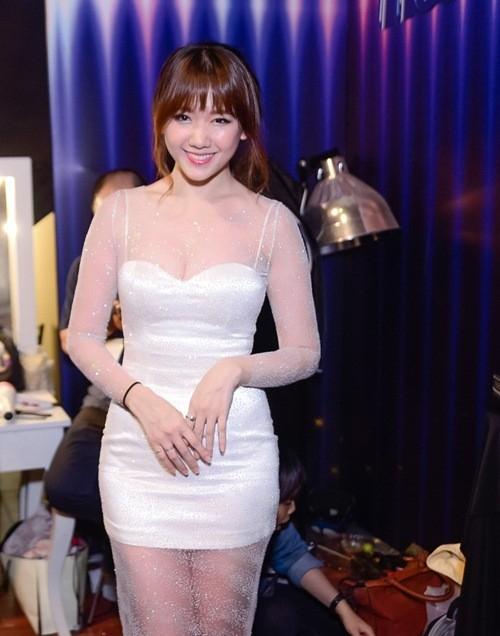 Diện đầm ôm sát, Hari Won đáp trả việc có thai cùng Trấn Thành - Tin sao Viet - Tin tuc sao Viet - Scandal sao Viet - Tin tuc cua Sao - Tin cua Sao