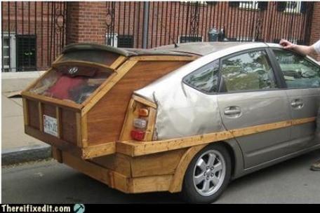 """Cốp xe gỗ cũng không phải là một lựa chọn """"tồi"""" đấy chứ."""