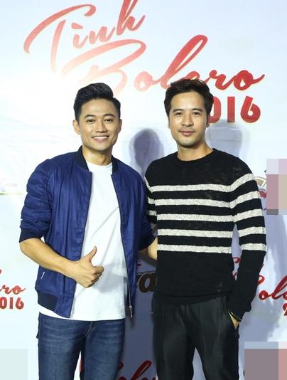Nam diễn viên Quý Bình và Đoàn Thanh Tài.
