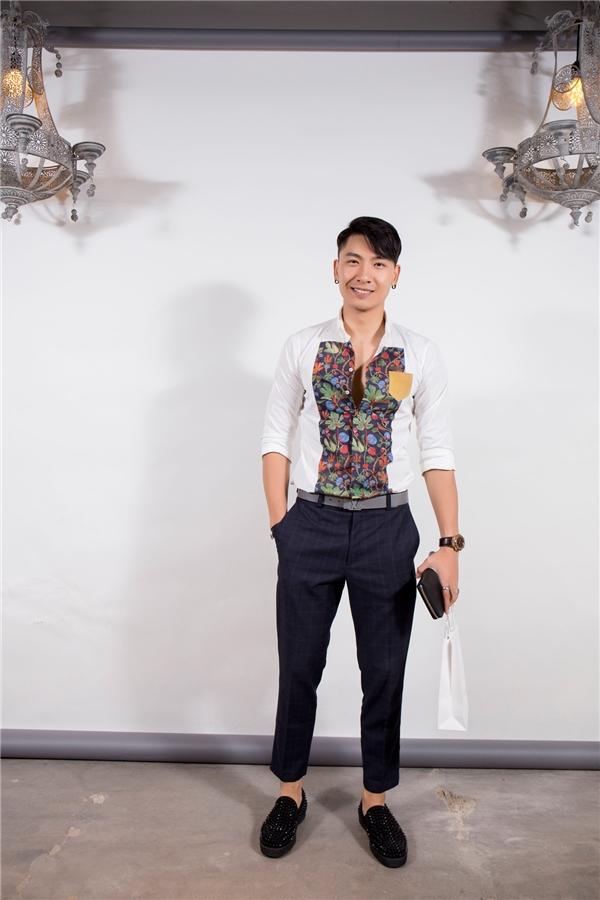 Siêu mẫu Trần Trung