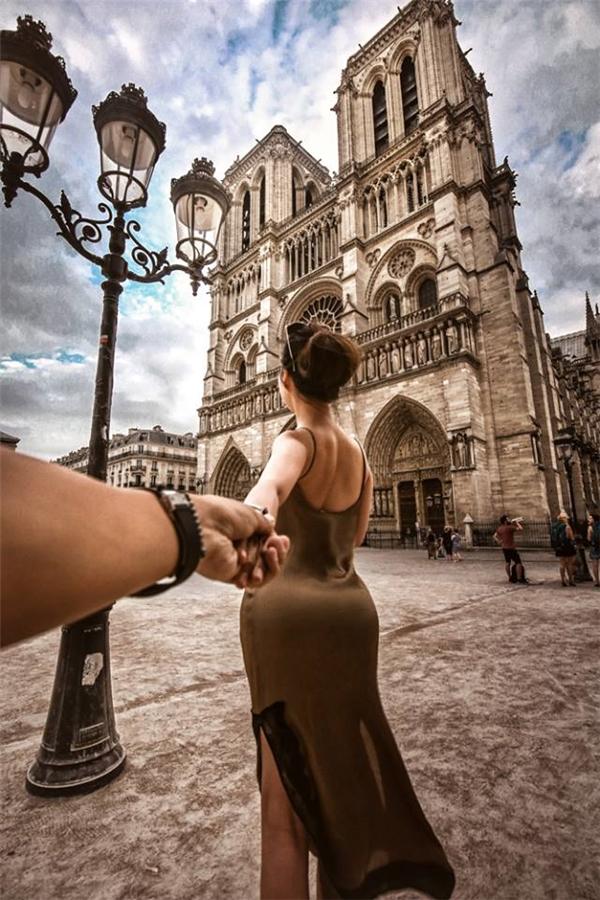 Notre-Dame. Nhà thờ Đức Bà - Paris.(Ảnh: MrLee)