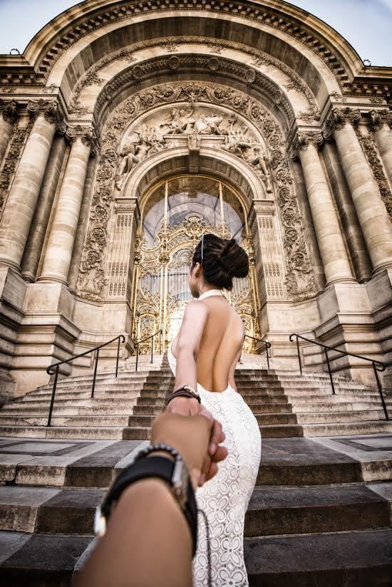 Golden Gate - nơi diễn ra những Fashion show của các nhãn hàng thời trang nổi tiếng thế giới tại Paris.(Ảnh: MrLee)