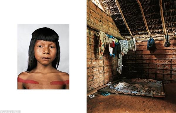 Ahkôhxet, 8 tuổi, Bra-xin: Ahkôhxet là một cậu bé thuộc bộ tộc người Kraho - những người sống ven lưu vực sông Amazon. Cả bộ lạc chỉ có 1900 người. Ahkôhxet thường đi săn bắn với những người trong bộ lạc để duy trì sự sống.