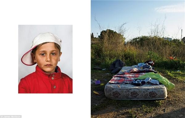 Cậu bé người Romania, 4 tuổi, Italia: Cậu bé này không muốn tiết lộ tên thật của mình và phải ngủ trên một tấm nệm vứt giữa cánh đồng bỏ hoang ngoại ô thành phố Rome. Gia đình cậu chuyển từ Romania đến Rome bằng vé xe buýt đi xin được của người ven đường. Cậu bé ở ngoài đường cả ngày trong khi cha mẹ rửa kính xe ô tô thuê tạicác cột đèn giao thông. Không một ai trong gia đình cậu từng được đi học.