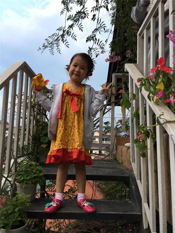 Đứng hình trước loạt ảnh siêu đáng yêu của con gái Huy Khánh - Tin sao Viet - Tin tuc sao Viet - Scandal sao Viet - Tin tuc cua Sao - Tin cua Sao