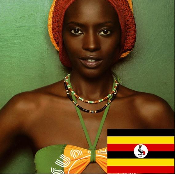 Uganda: Những cô gái Uganda có một đôi mắt to và sâu cuốn hút người nhìn, đặc biệt là làn da nâu săn chắc khiến ai cũng phải mê mẩn ngay từ cái nhìn đầu tiên.