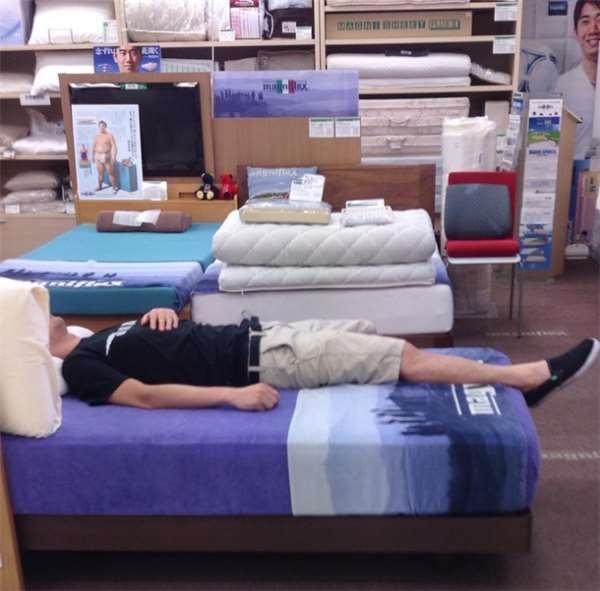 Chỉ tính thử trải nghệm chất lượng chiếc giường thôi nhưng mà...