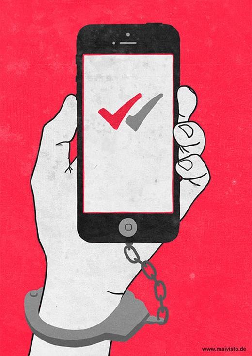 Chúng ta thực ra chỉ là nô lệ của công nghệ mà thôi.