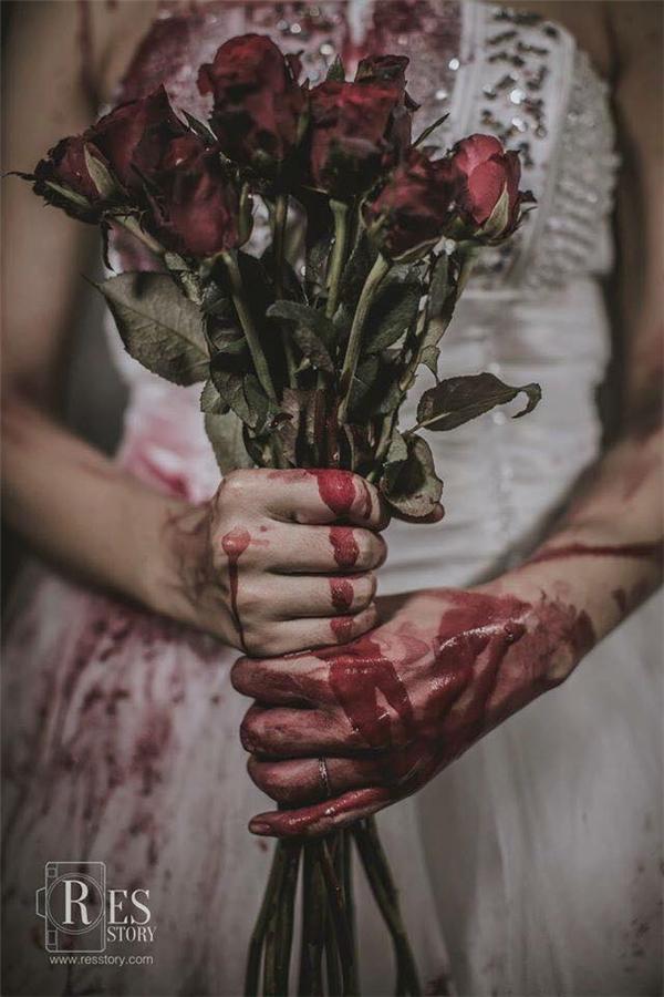 Hoa hồng cũng không được tươi tắn như bình thường nữa!