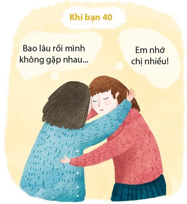 Phải đến khi làm bố làm mẹ rồi, bạn mới biết thương anh em mình hơn. Ở cái tuổi gần về xế chiều, bạn biết trân trọng tình cảm gia đình hơn bao giờ hết.