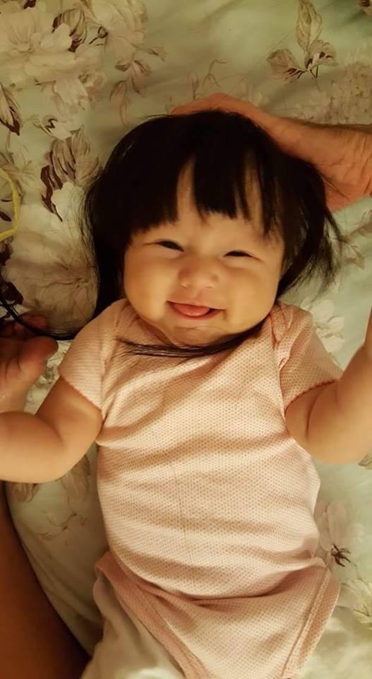 Ngất lịm trước vẻ đẹp lai Tây dễ thương của con gái Phương Vy - Tin sao Viet - Tin tuc sao Viet - Scandal sao Viet - Tin tuc cua Sao - Tin cua Sao
