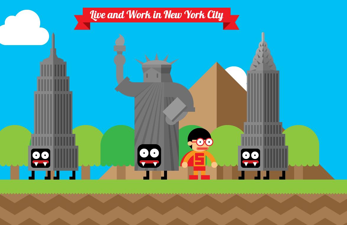 Robby Leonardi hiện đang sống và làm việc ở thành phố New York.(Ảnh chụp màn hình)