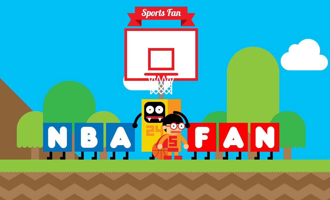 Anh có đam mê với bóng rổ.(Ảnh chụp màn hình)