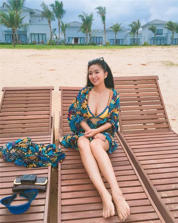 Quỳnh Giang ngày càng xinh đẹp, quyến rũ, nhưng cô nàng vẫn ngậm ngùi lẻ bóng. (Ảnh: Internet)