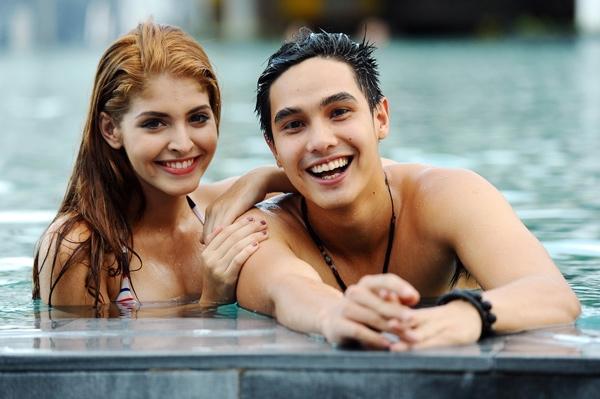 Baggio và Andrea từng được xem là một trong những cặp đẹp đôi nhất của giới hot teen. (Ảnh: Internet)