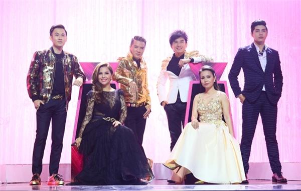 """Bộ sáu HLV """"quyền lực"""" của Tuyệt Đỉnh Song Ca 2016."""