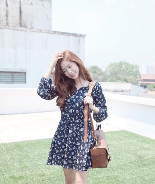 Vẻ đáng yêu trong sáng của hot girl thống trị Instagram Thái