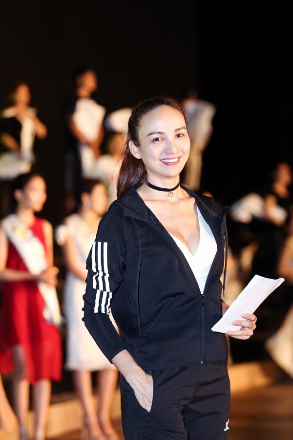 Hoa hậu Ngọc Diễm sẽ là MC nữ chính của đêm chung kết.