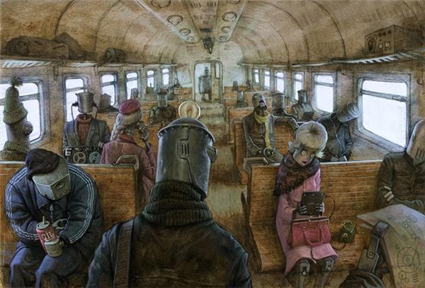 Sống trong thời đại công nghệ, chúng ta chỉ là những con robot vô hồn, vô cảm.