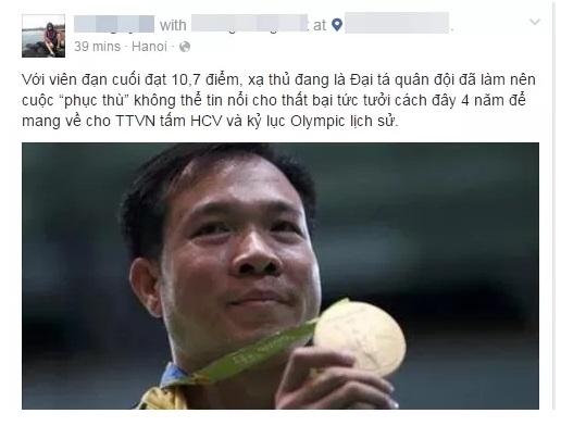NHM Việt Nam phát cuồng với kì tích có một không hai của xạ thủ Hoàng Xuân Vinh