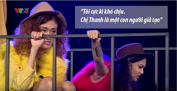 Trong khi đó, thí sinh Anh Thư lại cho rằng việc khóc lóc của La Thanh Thanh chỉ là màn kịch giả tạo.