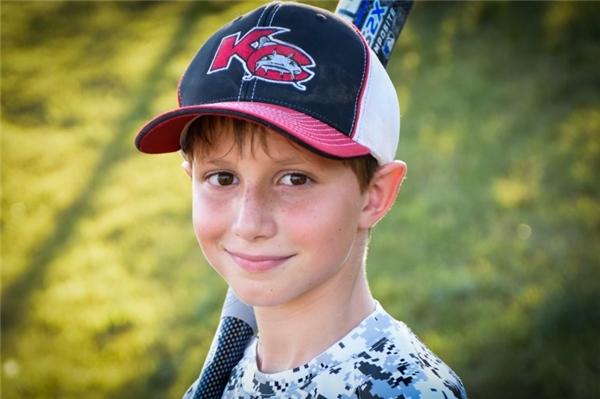 Caled Thomas Schwabcậu bé tử vong khi chơi tại công viên nước. (Nguồn: Internet)