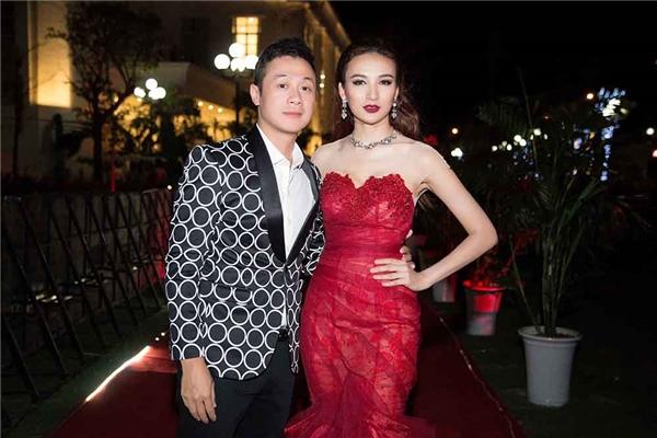 Hoa hậu Ngọc Diễm từng đứng chung sân khấu với nhiều MC nổi tiếng như Phan Anh, Anh Tuấn... - Tin sao Viet - Tin tuc sao Viet - Scandal sao Viet - Tin tuc cua Sao - Tin cua Sao