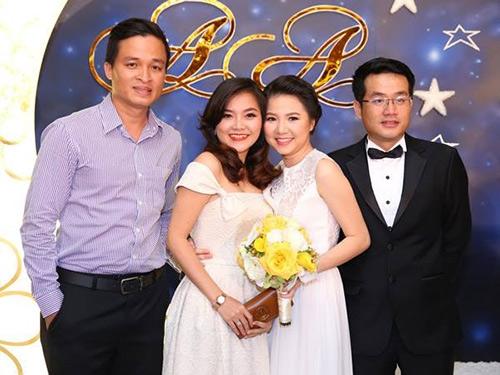 ...và Thanh Ngọc trong đám cưới Ngô Quỳnh Anh năm 2014. - Tin sao Viet - Tin tuc sao Viet - Scandal sao Viet - Tin tuc cua Sao - Tin cua Sao