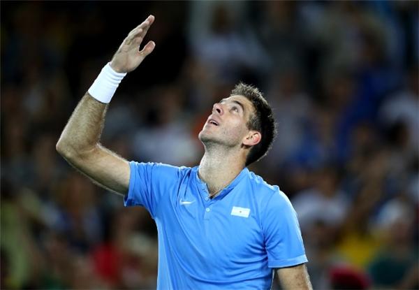 Đối thủ của Djokovic,Juan Martin del Potro, hiện đang xếp hạng 145 thế giới...