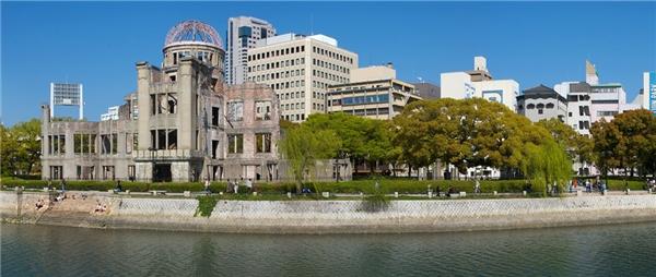 Tòa nhà này là công trình gần vụ nổ nguyên tử nhất chịu được sức công phá. Tòa nhà được bảo tồn nguyên trạng ngay sau vụ nổ và trở thành biểu tượng hòa bình.